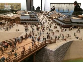 江戸東京博物館日本橋ジオラマ