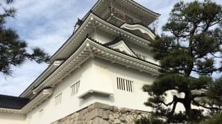 富山城見上げ