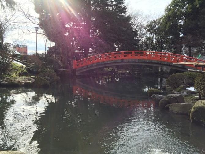 富山城公園庭園
