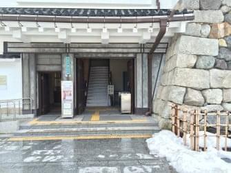 富山城入口