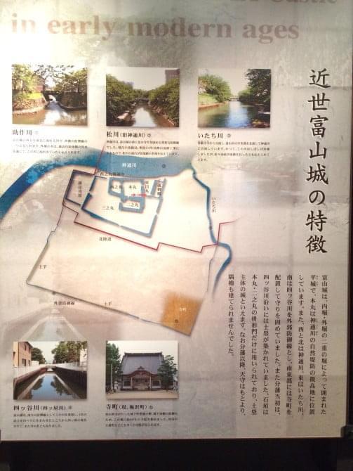 富山城の特徴
