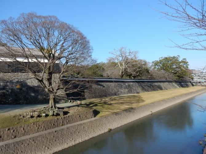 熊本城_02 長塀と馬具櫓