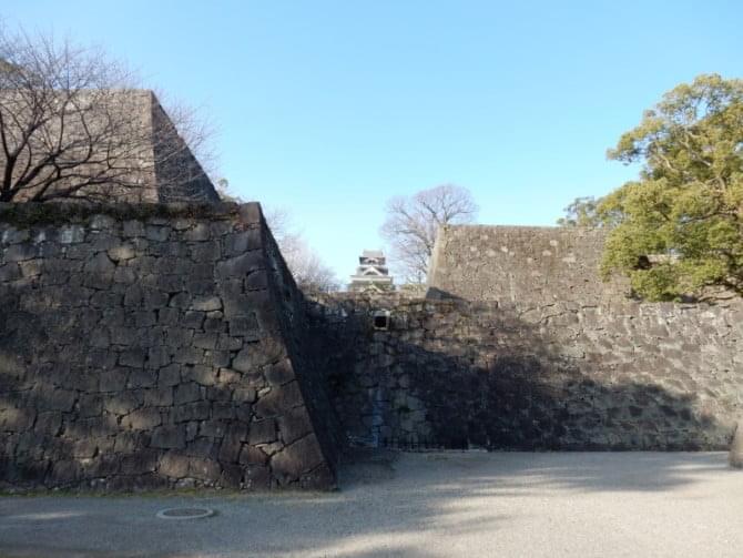 熊本城_05 天守と竹の丸石垣 02