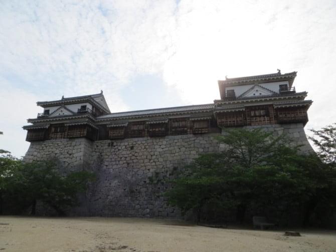 松山城_07_1 南隅櫓・十軒廊下・北隅櫓