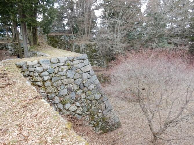 高取城跡_07_1 本丸北側の石垣