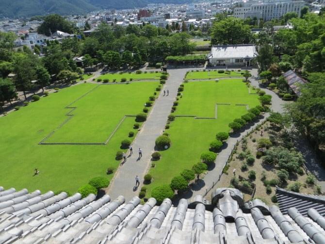 松本城_05_2 天守6階・東側の眺め